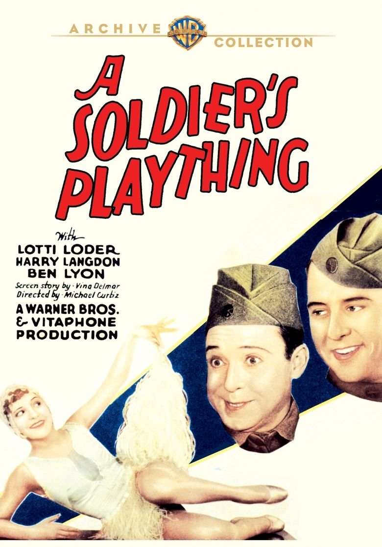 A Soldiers Plaything movie poster