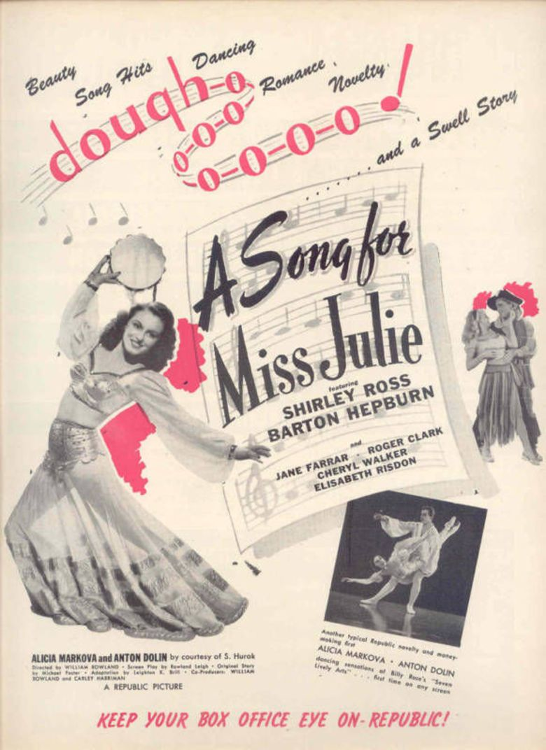 A Song for Miss Julie movie poster