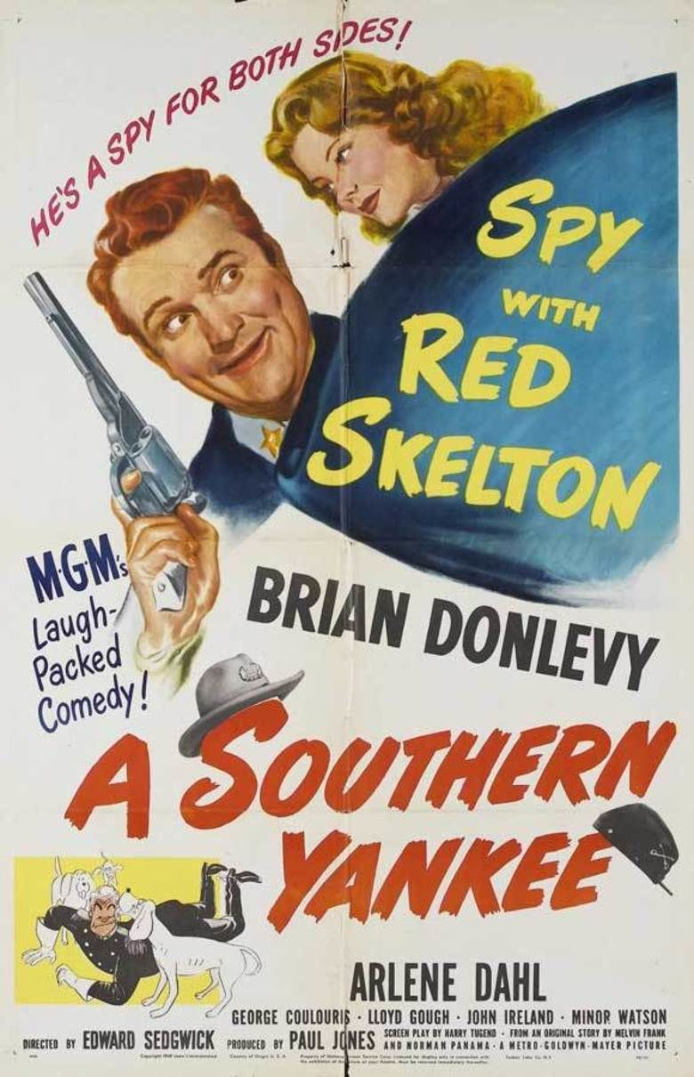 A Southern Yankee movie poster