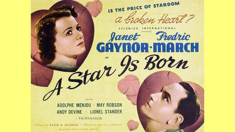 A Star Is Born (1937 film) movie scenes