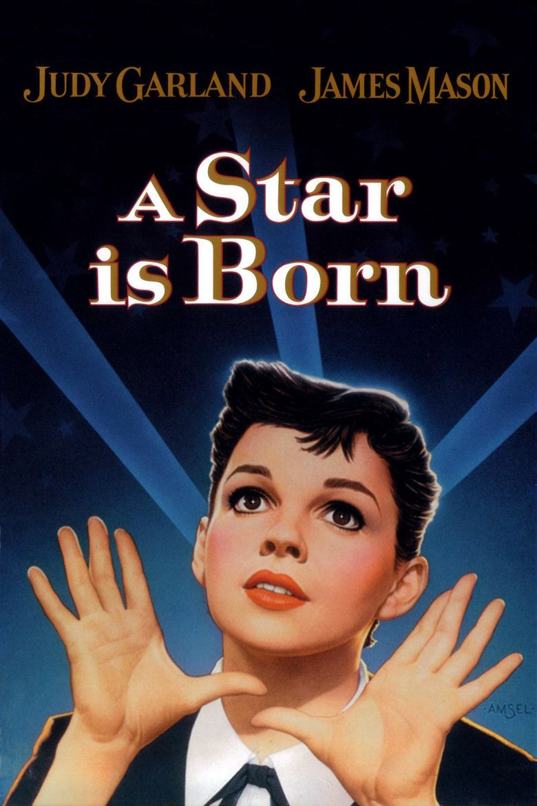 A Star Is Born (1954 film) movie poster