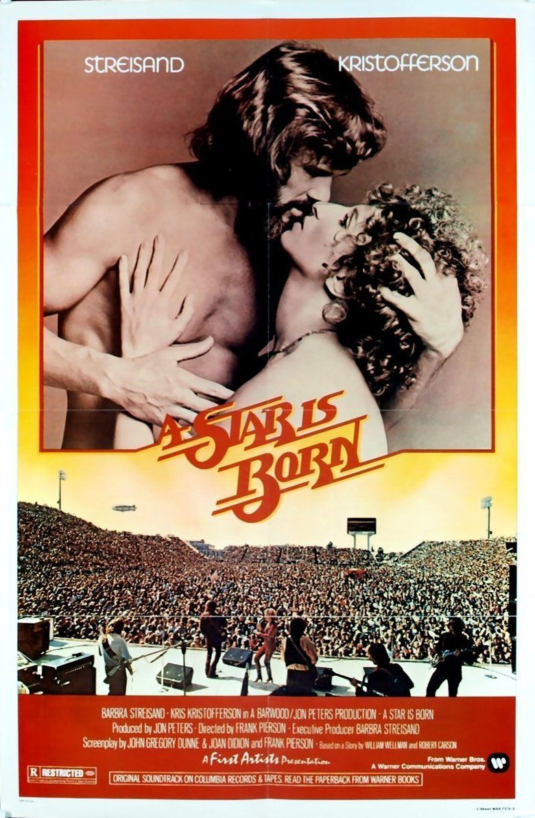 A Star Is Born (1976 film) movie poster