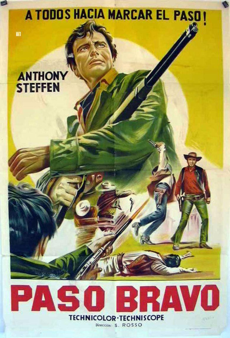 A Stranger in Paso Bravo movie poster