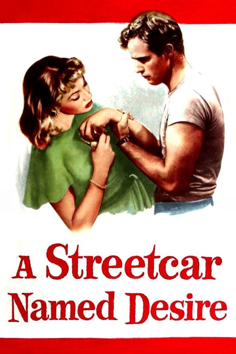 A Streetcar Named Desire (1951 film) movie poster