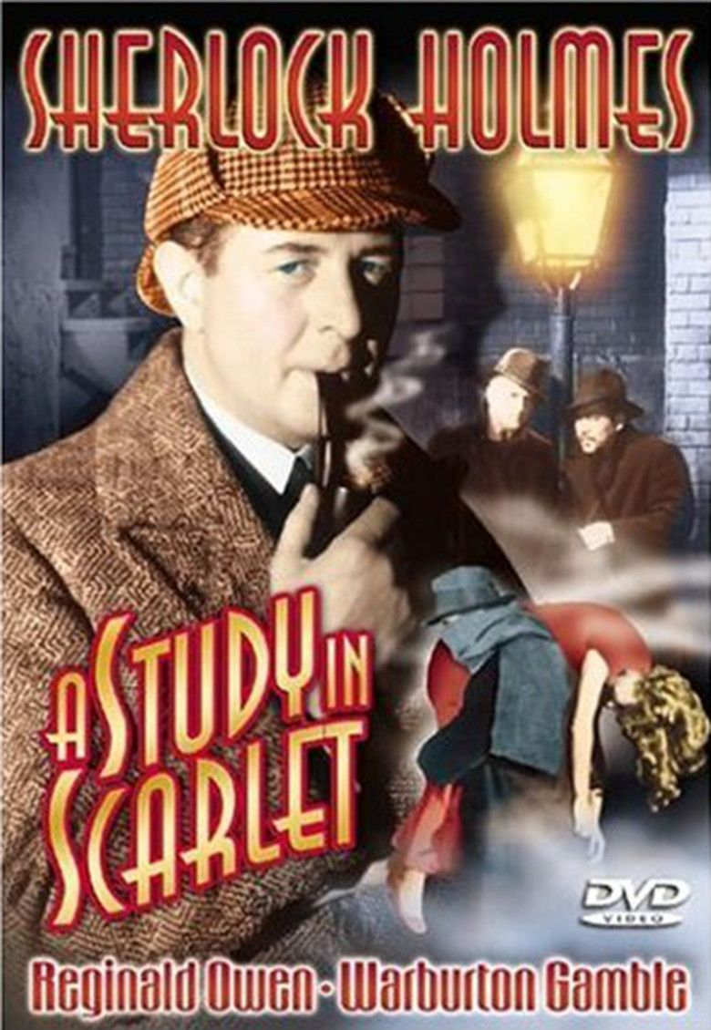 A Study in Scarlet (1933 film) movie poster