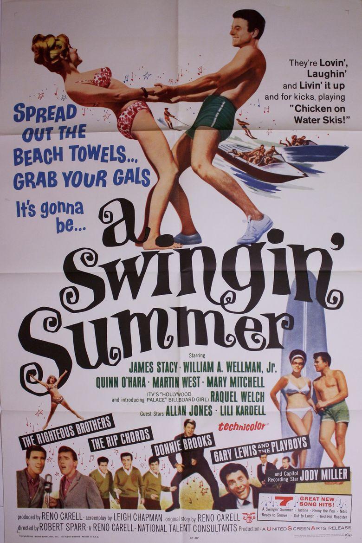 A Swingin Summer movie poster