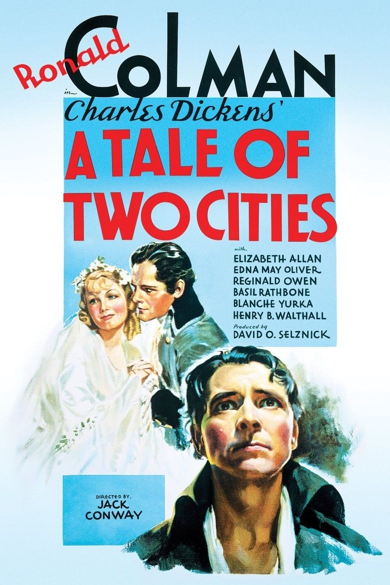 A Tale of Two Cities (1935 film) movie poster