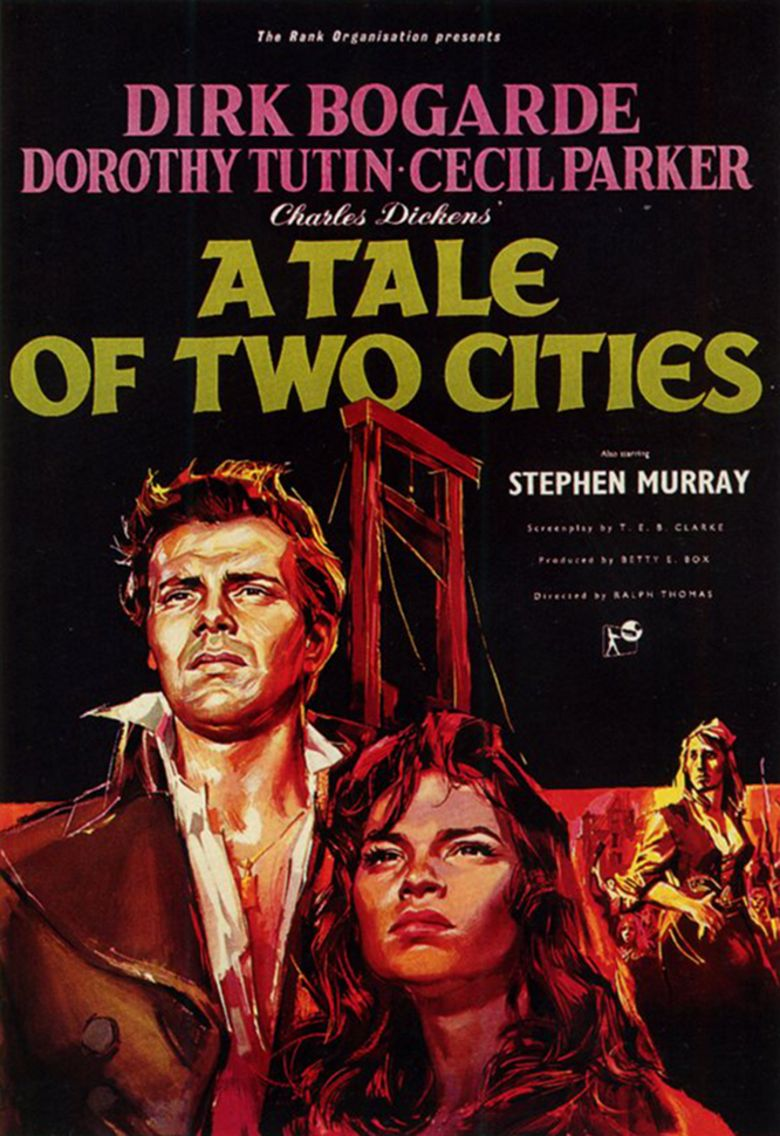 A Tale of Two Cities (1958 film) movie poster