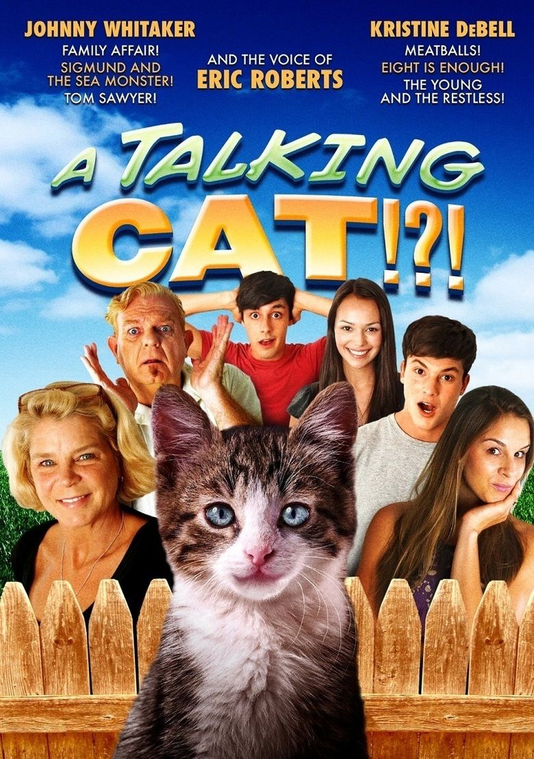 A Talking Cat!! movie poster