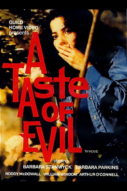 A Taste of Evil movie poster