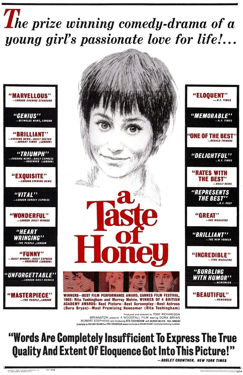 A Taste of Honey (film) movie poster