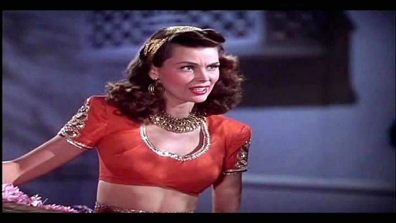 A Thousand and One Nights (1945 film) movie scenes