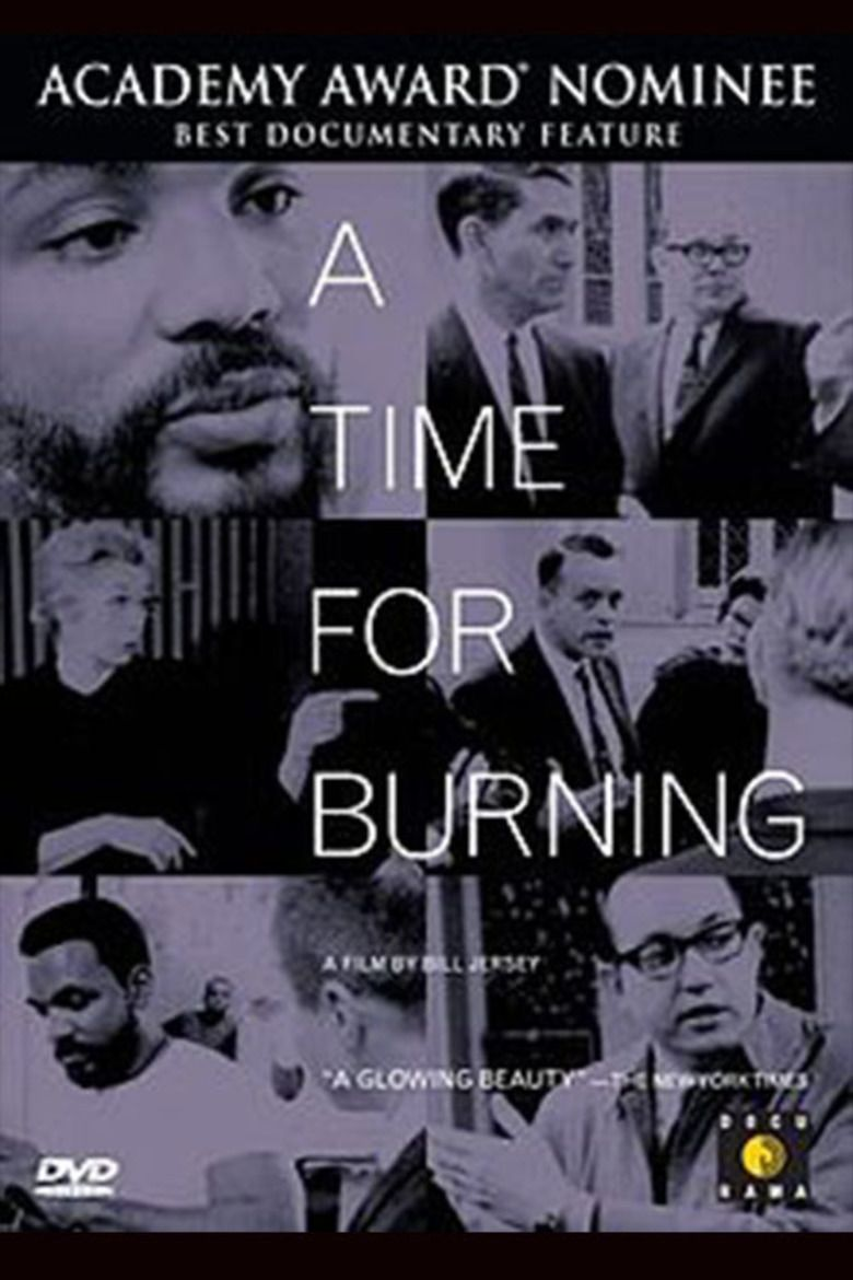 A Time for Burning movie poster
