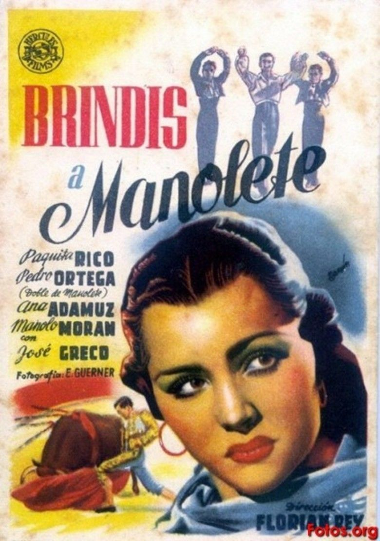 A Toast for Manolete movie poster