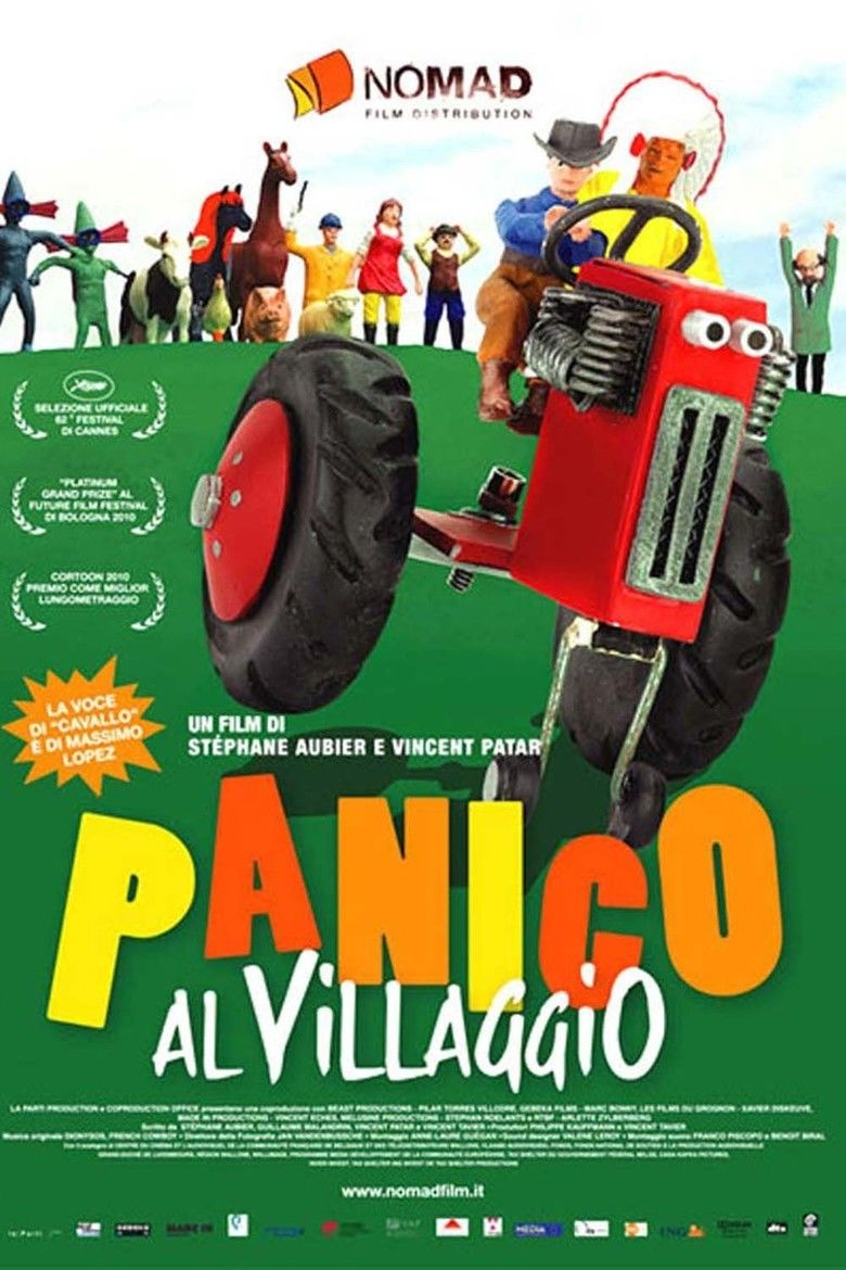 A Town Called Panic (film) movie poster