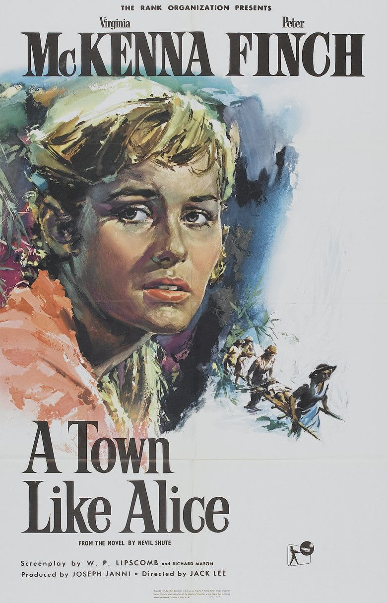 A Town Like Alice (1956 film) movie poster