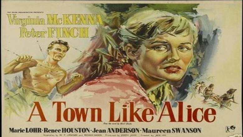 A Town Like Alice (1956 film) movie scenes