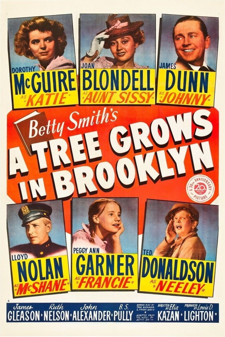 A Tree Grows in Brooklyn (film) movie poster
