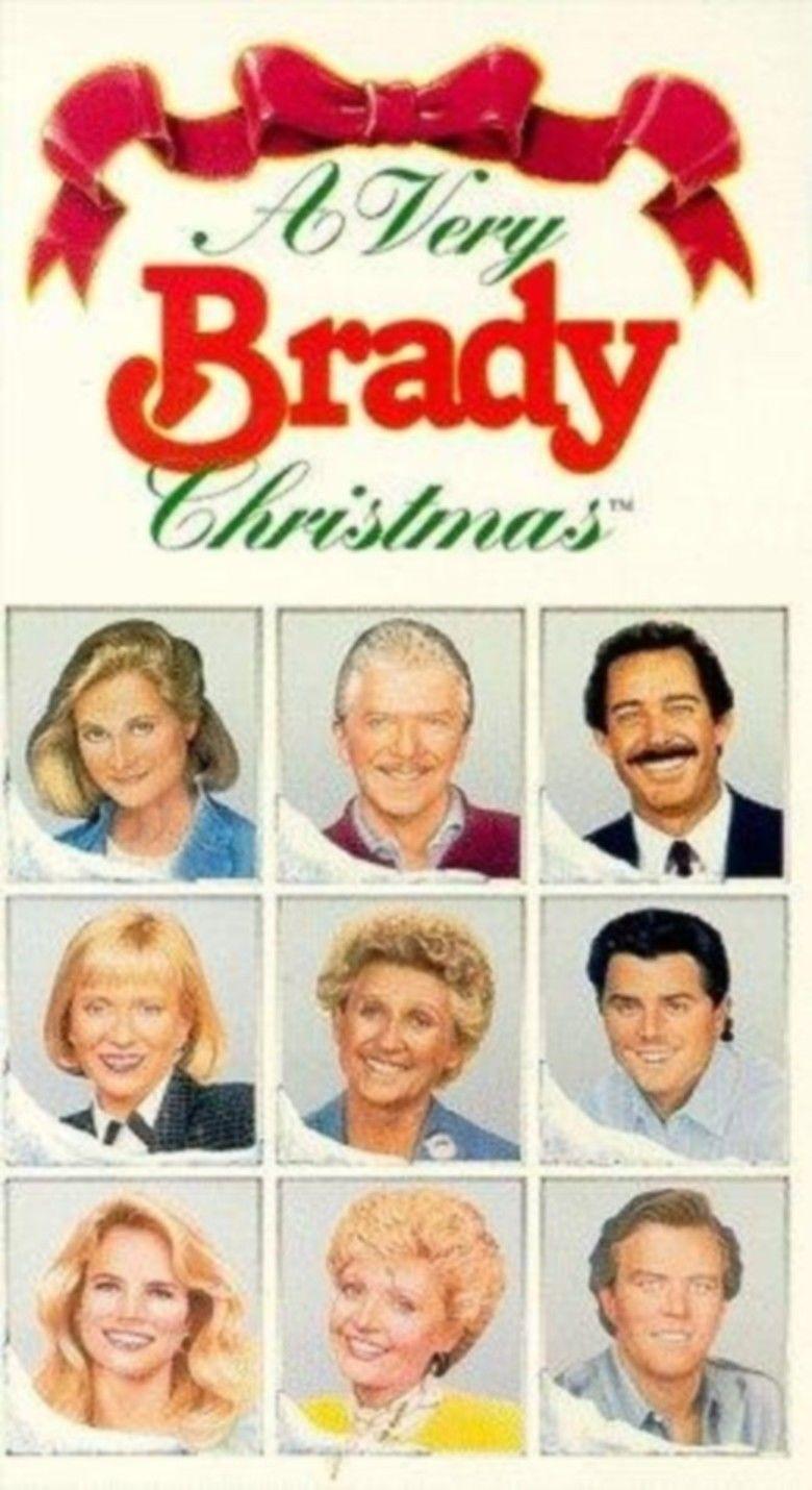 A Very Brady Christmas movie poster