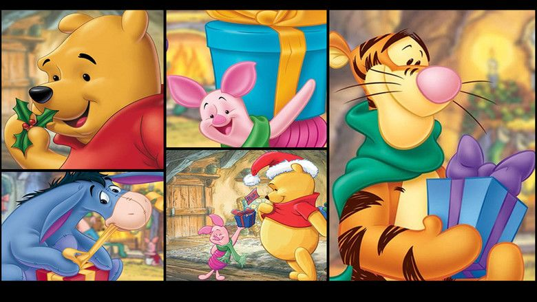 A Very Merry Pooh Year movie scenes