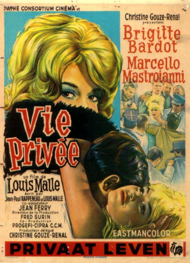 A Very Private Affair movie poster