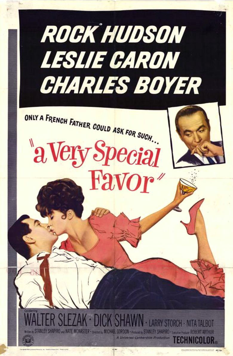 A Very Special Favor movie poster