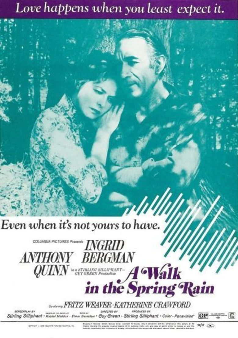 A Walk in the Spring Rain movie poster