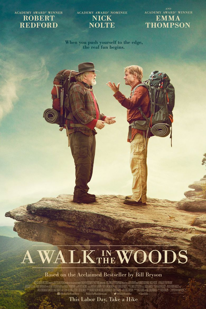 A Walk in the Woods (film) movie poster