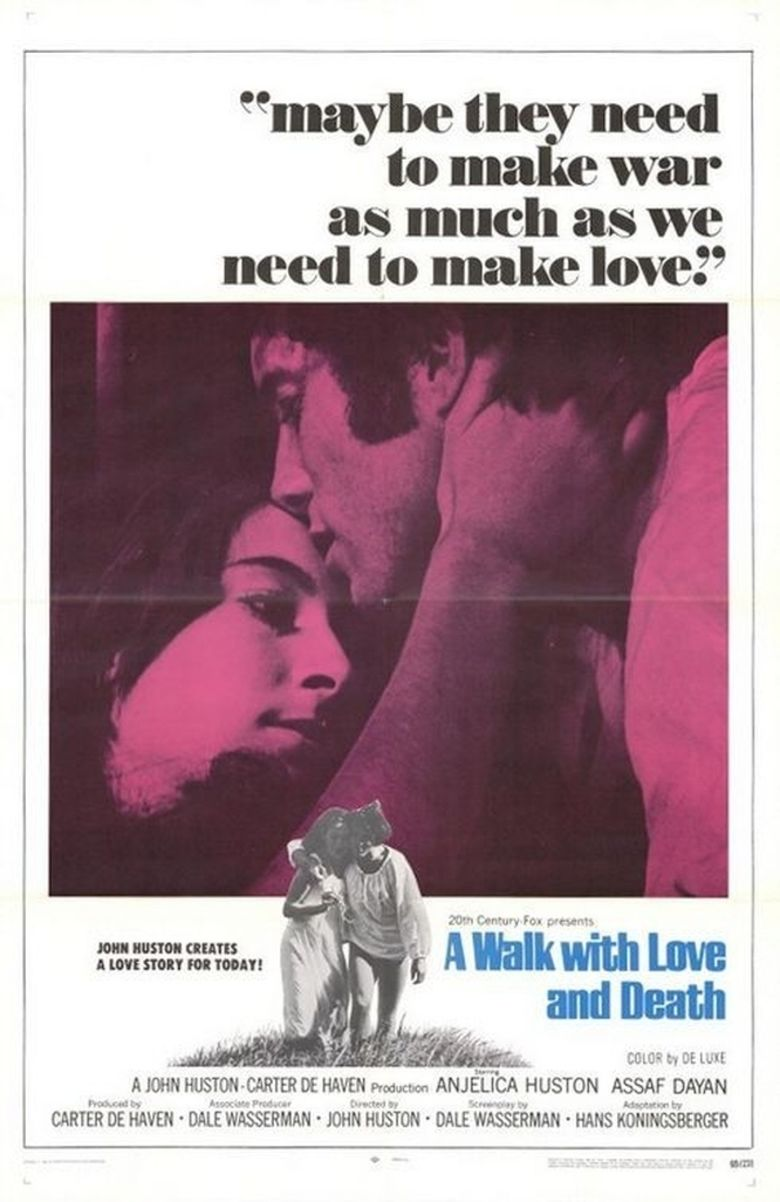A Walk with Love and Death movie poster