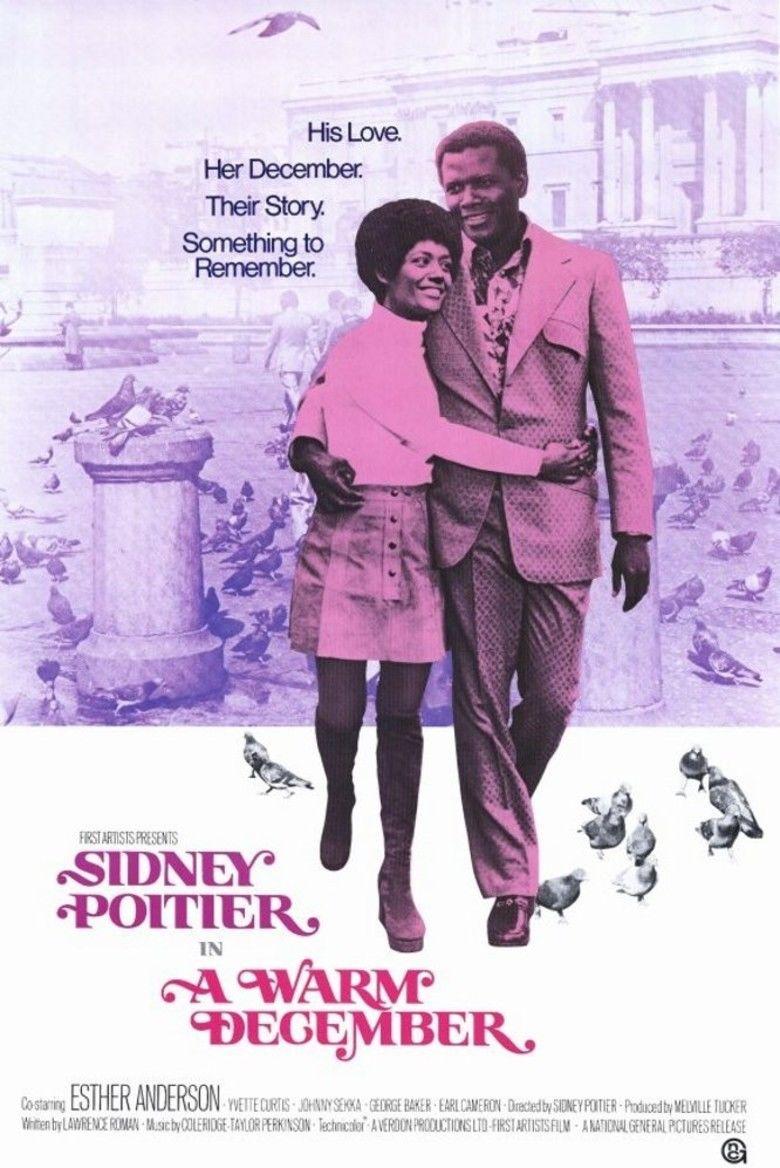A Warm December movie poster