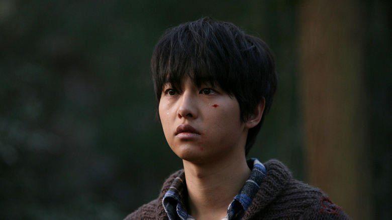 A Werewolf Boy movie scenes