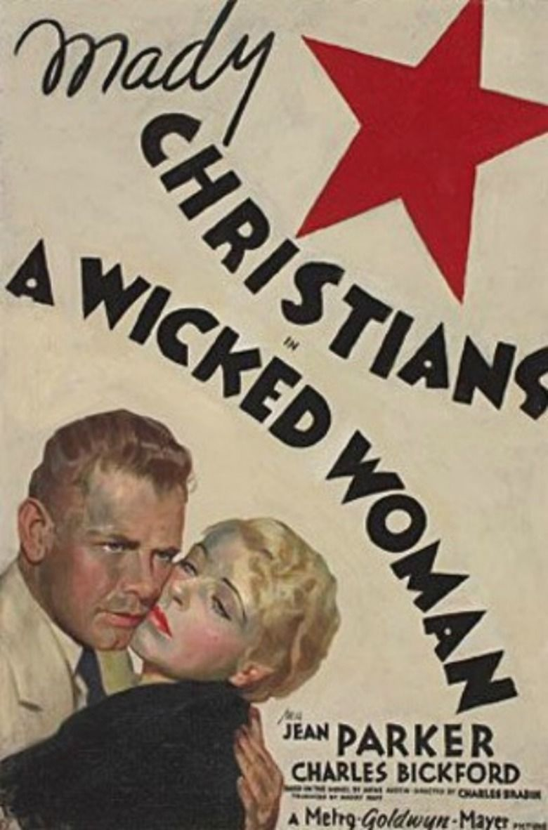A Wicked Woman movie poster