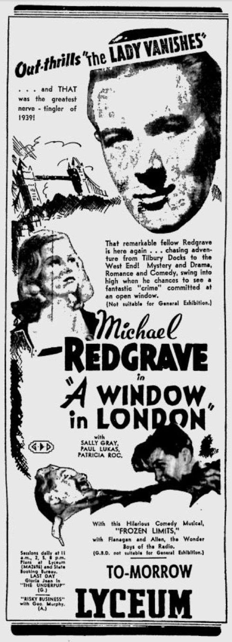 A Window in London movie poster
