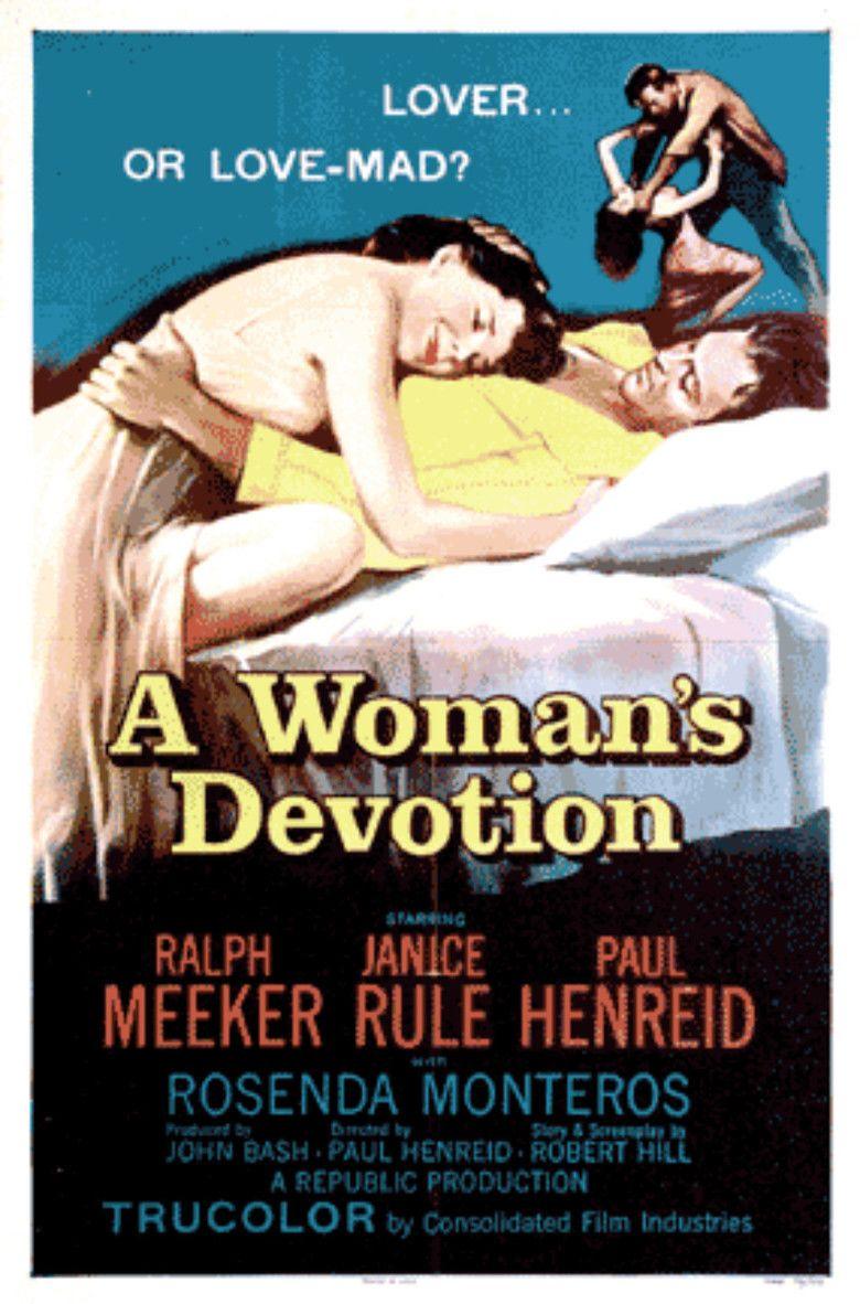 A Womans Devotion movie poster