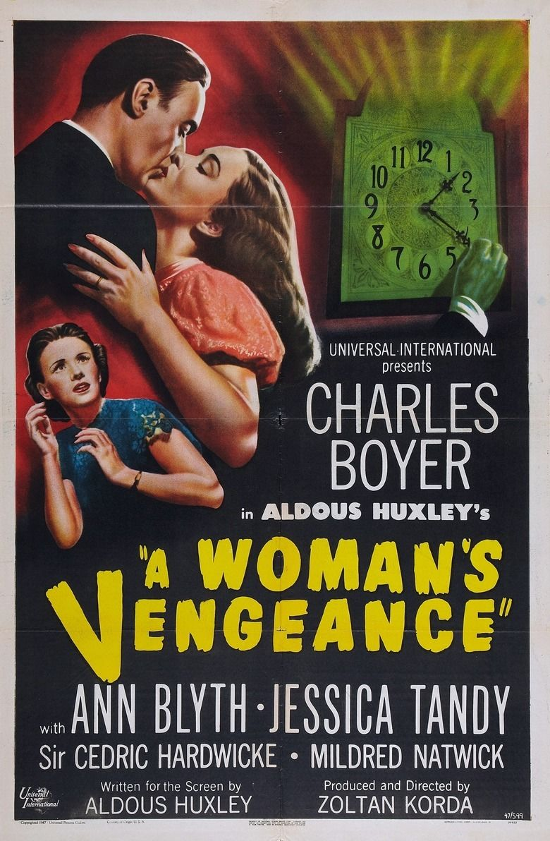 A Womans Vengeance movie poster