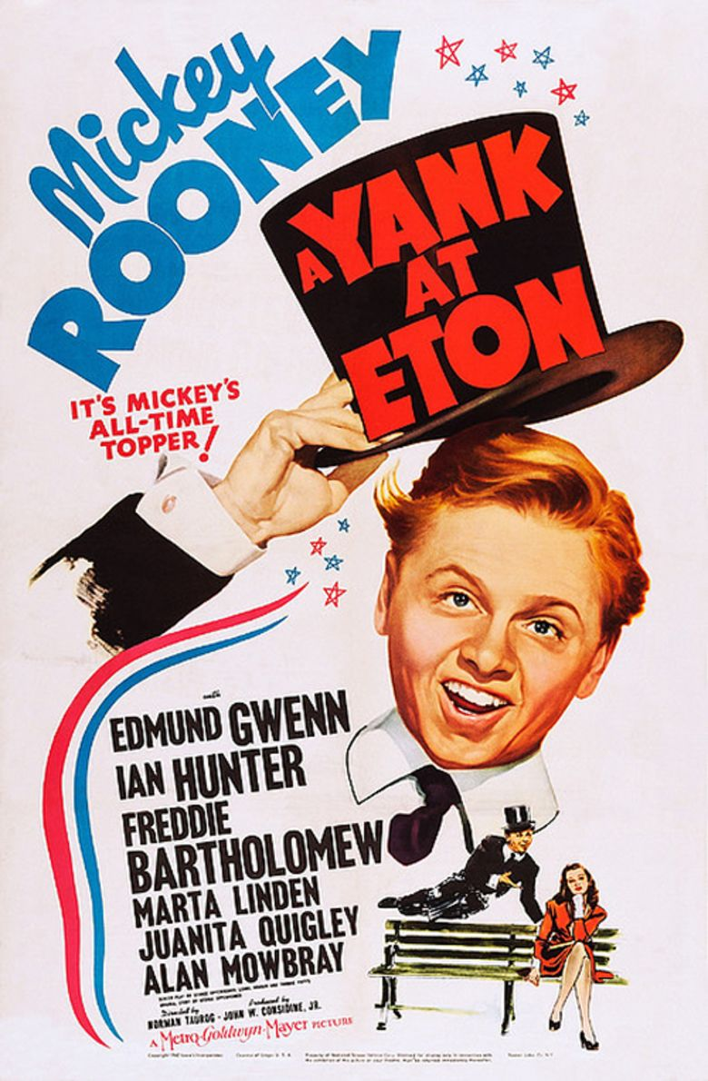 A Yank at Eton movie poster