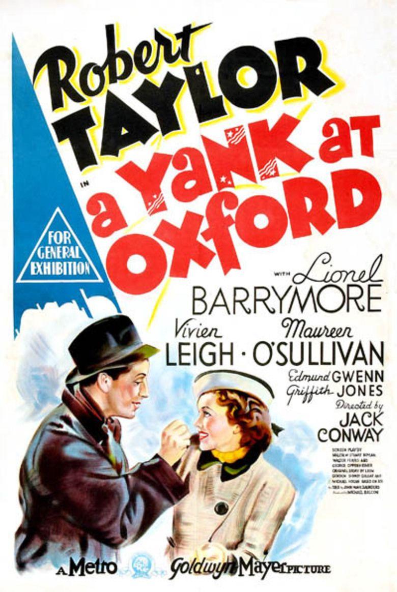 A Yank at Oxford movie poster