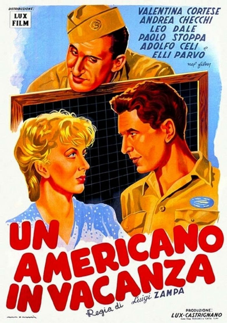 A Yank in Rome movie poster