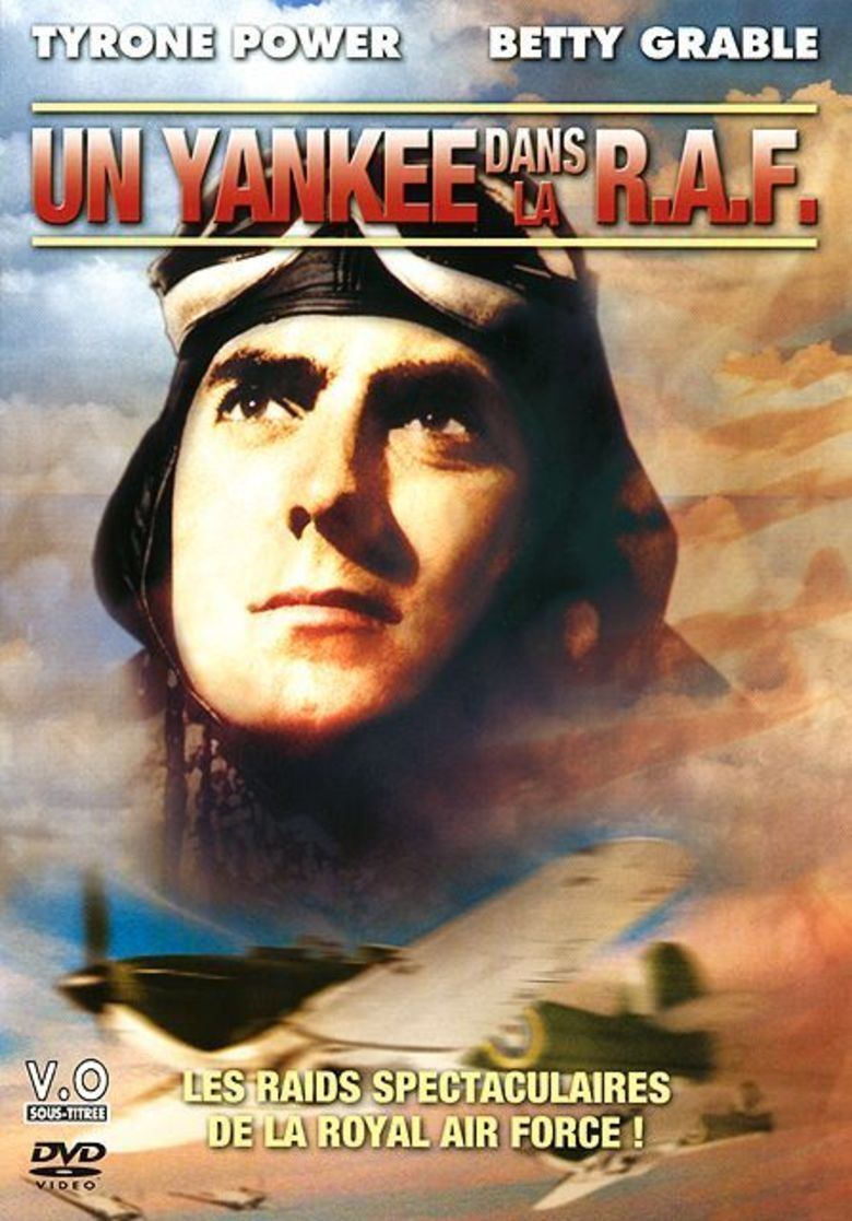 A Yank in the RAF movie poster