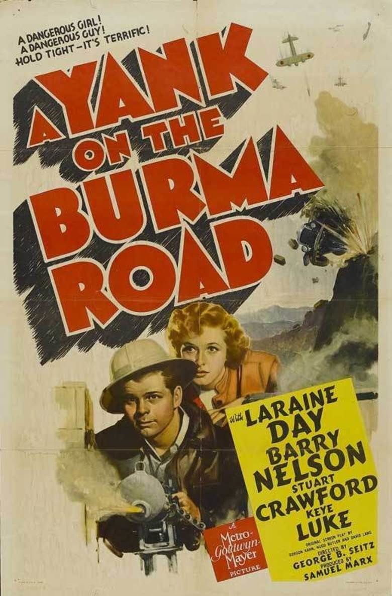 A Yank on the Burma Road movie poster