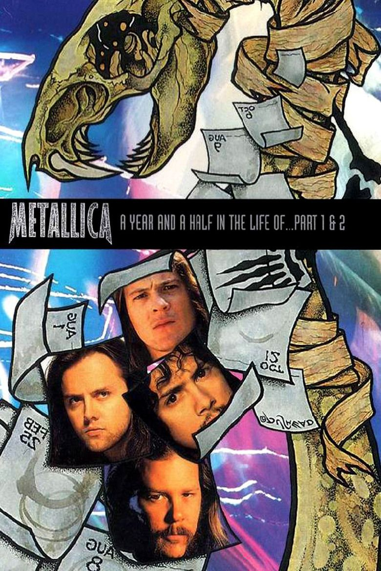 A Year and a Half in the Life of Metallica movie poster