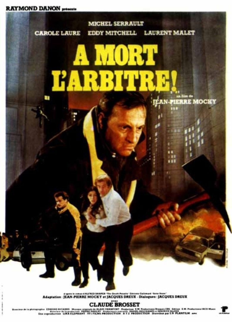 A mort larbitre movie poster