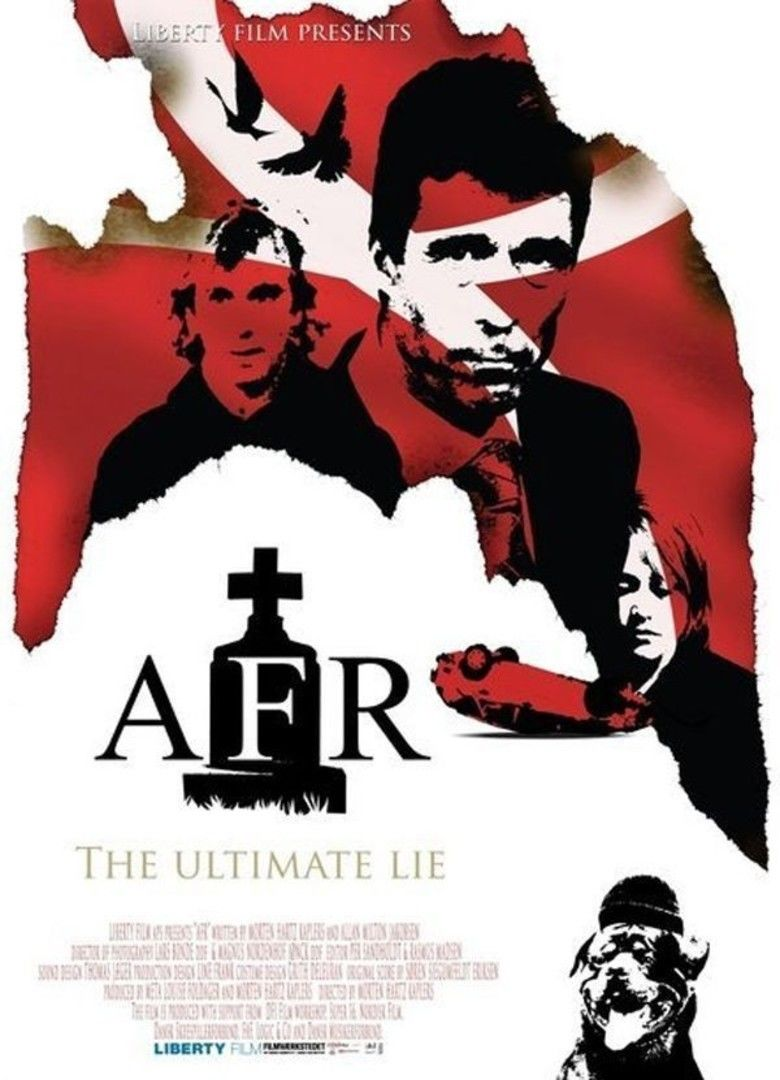 AFR (film) movie poster