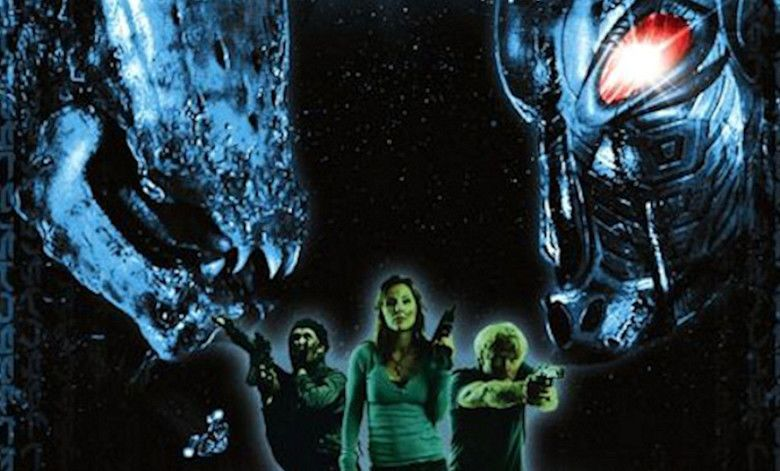 AVH: Alien vs Hunter movie scenes