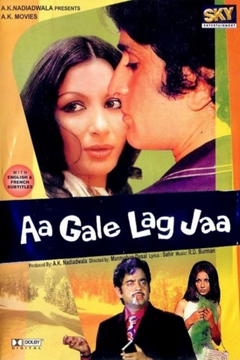 Aa Gale Lag Jaa (1973 film) movie poster