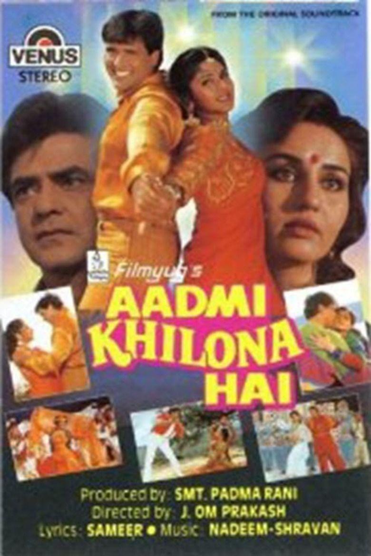 Aadmi Khilona Hai movie poster