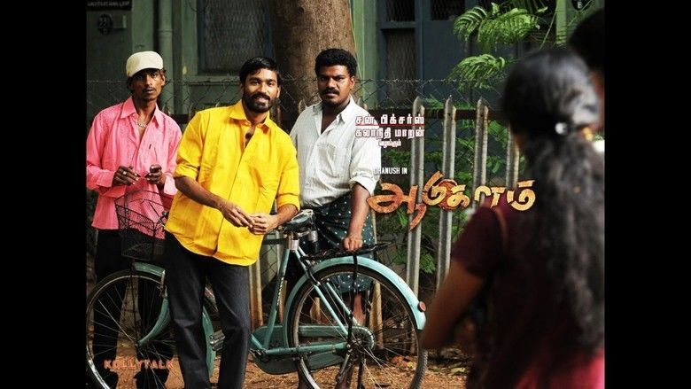 Aadukalam movie scenes