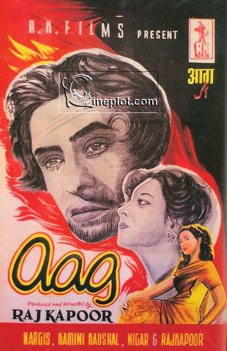 Aag (1948 film) movie poster