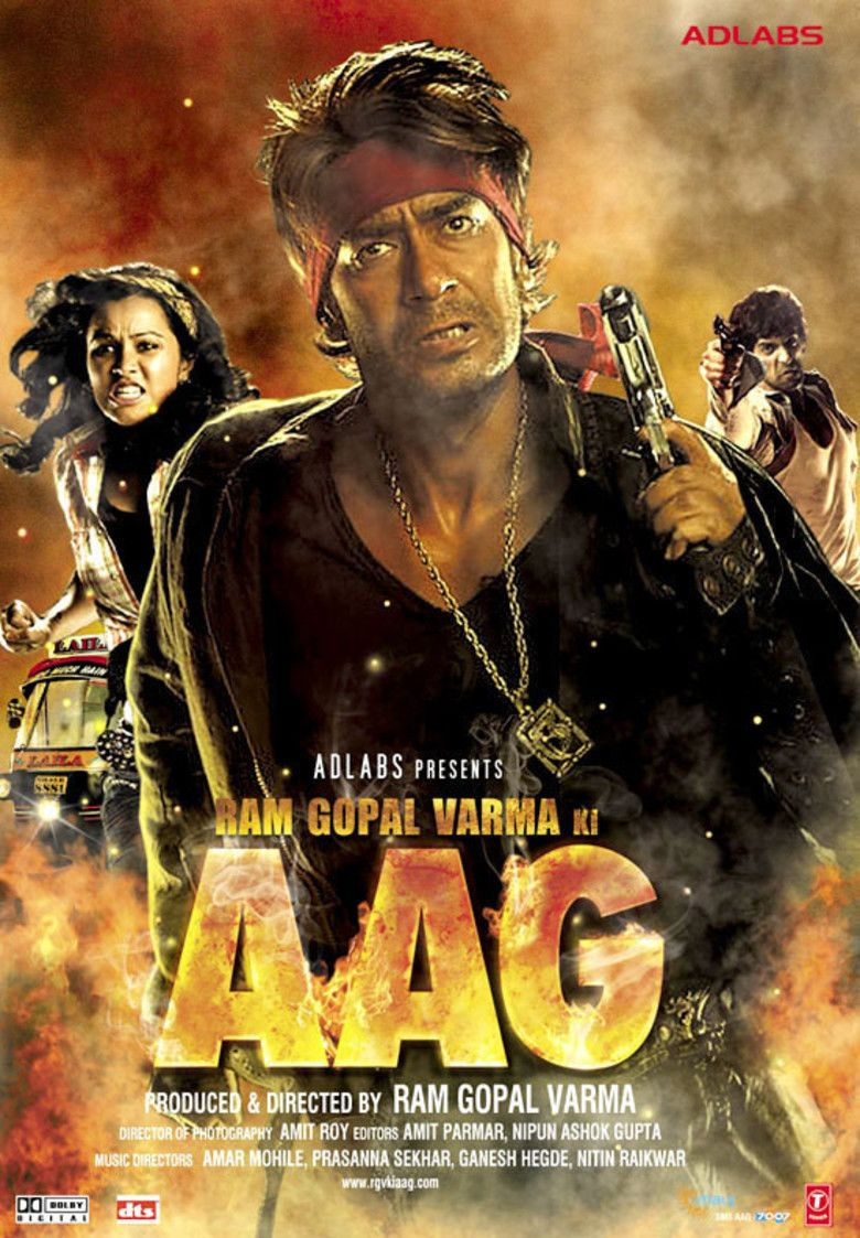 Aag (2007 film) movie poster