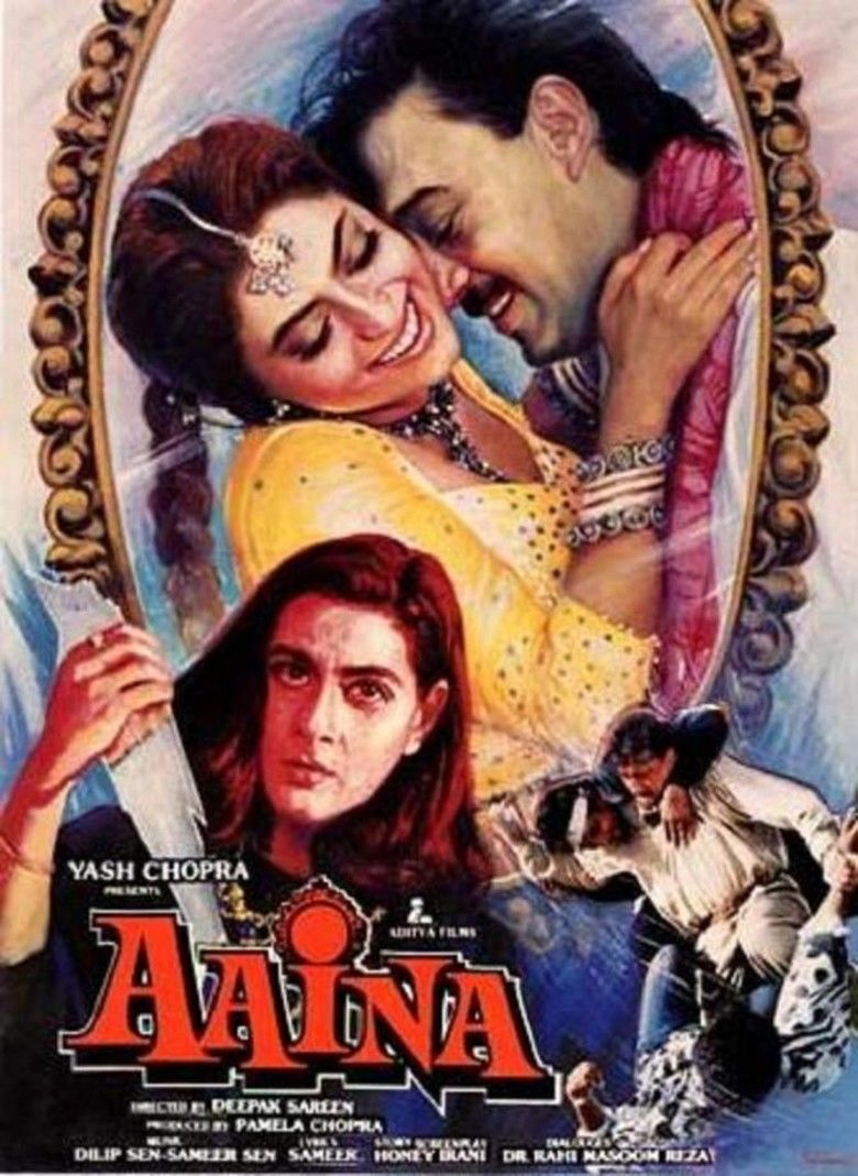 Aaina (1993 film) movie poster